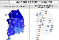 """주산연 """"10월 입주경기 전망치, 예년 수준으로 '양호'"""""""