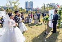 광양제철소 프렌즈봉사단, 다문화부부를 위한 야외 '합동결혼식' 열어