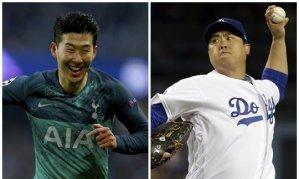 '1000억' 손흥민, 뒤쫓는 류현진…치솟는 몸값