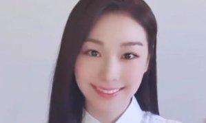 '무쌍 미녀' 김연아, 쌍꺼풀 점점 짙어져…물오른 미모 공개