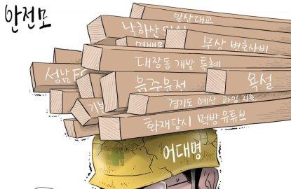 [오성수의 툰] 안전모