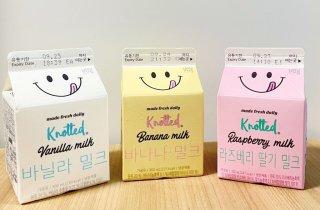 도넛 명가 노티드에서 출시한 우유 3종 리뷰