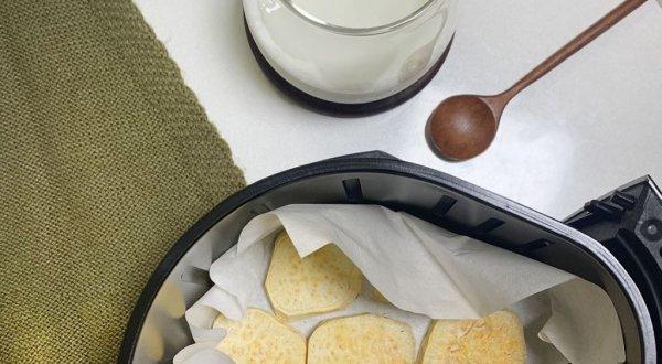 고구마 에어프라이어 요리, 일명 '나무토막' 꿀 조합3