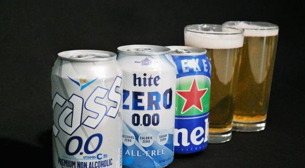 그냥 맥주 뺨치는 무알코올 맥주를 가려보자