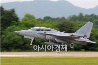 FA-50 국산 전투기 첫 양산계약 체결