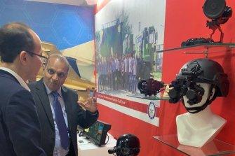 이오시스템 '에어로 인디아 2019' 참가…열상조준경 전시