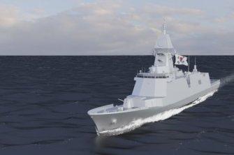 현대중공업, 울산급 배치-Ⅲ 2024년 해군인도