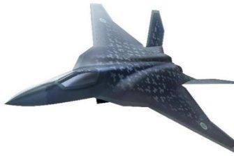 일본이 개발한다는 스텔스전투기 'F-2'