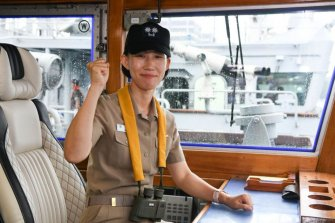 해군 최초 여군함장 탄생