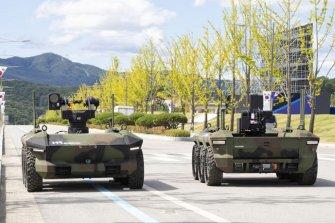 현대로템, 국내 첫 다목적 무인차량 선정