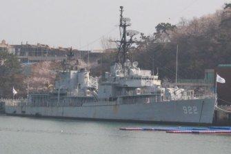 해군 최초의 파병 함정은 '물새는 기어링급 구축함'