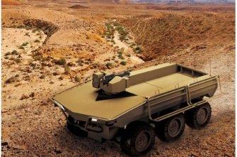 한화디펜스 '지능형 다목적무인차량' 군 시범운용에 투입