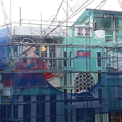 홍대에 북한 술집?