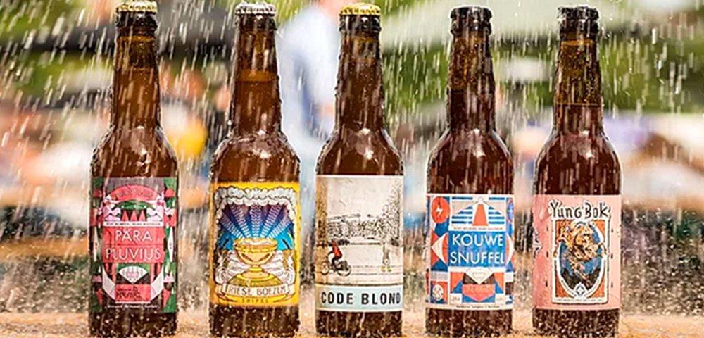 진짜 빗물로 만든 맥주가 있다고?😳