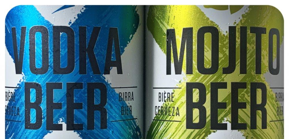 엑스마크 맥주 2종(보드카/모히토)