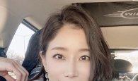 """김하영, """"춥지만 열일♥"""" 우아함이 감도는 미모 '시선 강탈'"""