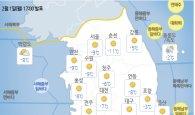 [내일 <em>날씨</em>] 전국 강추위…곳곳 눈·비