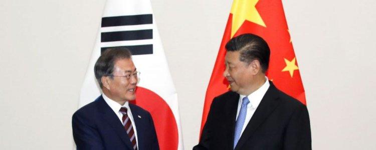"""시진핑 """"김정은 외부환경 개선 기대…비핵화 의지 동일"""""""