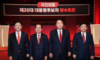 [아경 여론조사] 이재명과 양자대결 해보니 홍준표-원희룡-유승민-윤석열 순