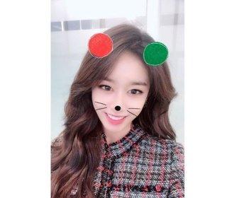 """지연, 팬들에게 전하는 성탄절 인사 """"메리 크리스마스"""""""