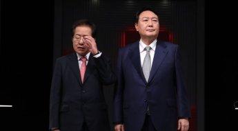 윤석열-홍준표 대변인들 '외신 인용' 놓고 설전