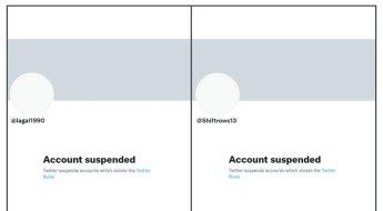 트위터, 北해커들 계정 2개 정지