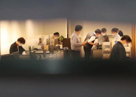 검찰, 성남시청 시장실·비서실 첫 압색자료 확보는 불투명