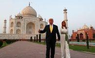 '트럼프타워' 즐비한 인도에서 환대받은 트럼프