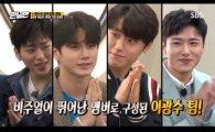 '런닝맨' 옹성우-이도현-서지훈-지코 비주얼팀 대활약, 달걀깨기부터 저금통 레이스까지(종합)