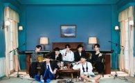 방탄소년단, 英·美 팝스타 제치고 올해의 글로벌 아티스트 1위