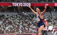 남자 높이뛰기 우상혁 한국신기록 2m35