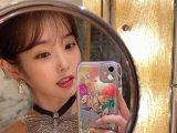 [포토] 핑크빛 품은 아이유