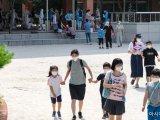 [포토]코로나19 검사 마친 초등학생들