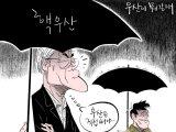 [오성수의 툰] 우산이 뭐길래