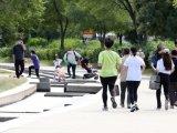 [포토]휴일 한강공원