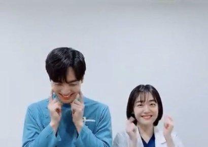 '낭만닥터 김사부2' 소주연X김민재, '아무노래 챌린지' 완벽 소화