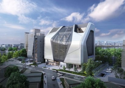 YG, 8년 공들인 신사옥 大공개…기존 사옥 10배 규모