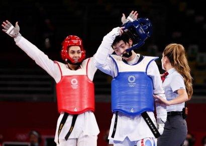 태권도 이다빈, 첫 올림픽서 은메달…韓 태권도 사상 첫 올림픽 '노골드' 마무리(종합)